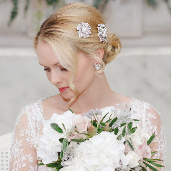 Shop our beautiful Pearl Wedding Collection