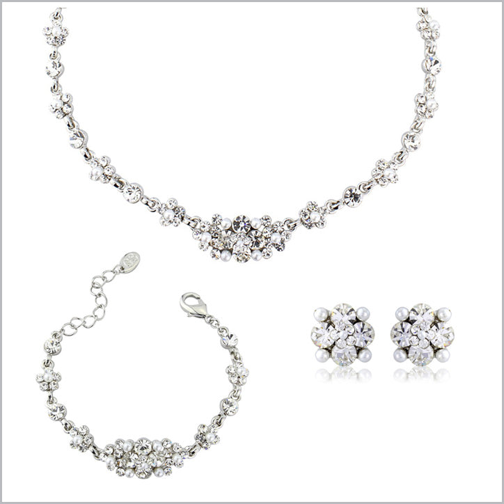 Pearl Wedding Jewellery Sets