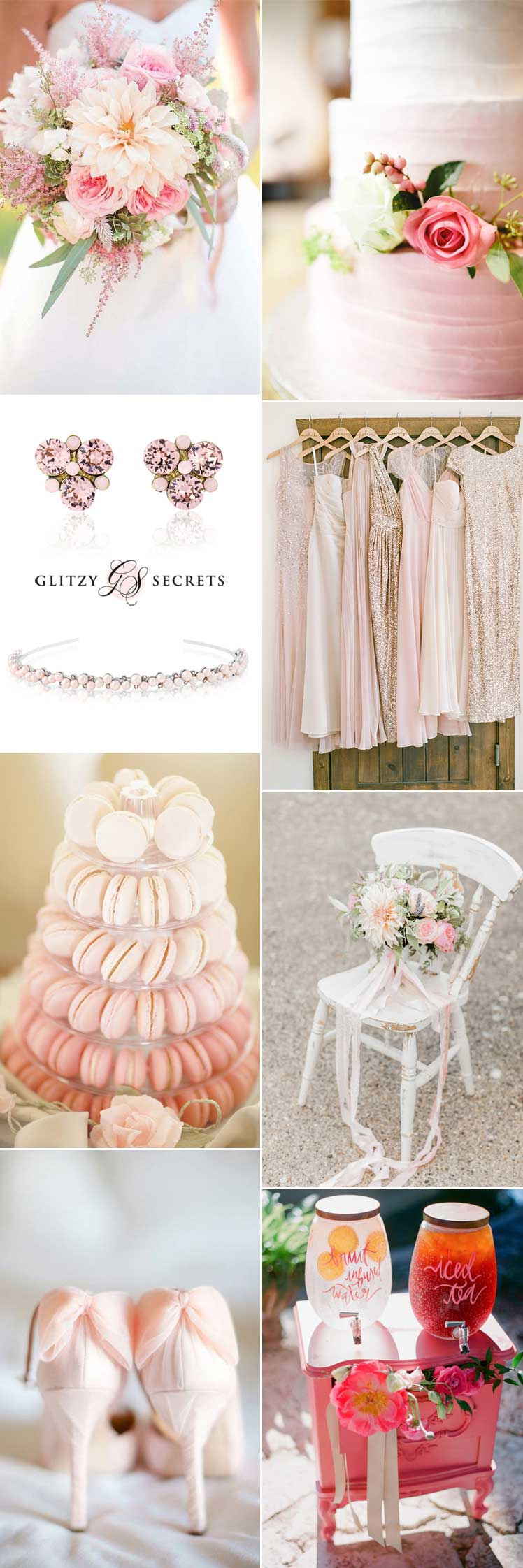 Perfect romantic pink wedding ideas inspiration