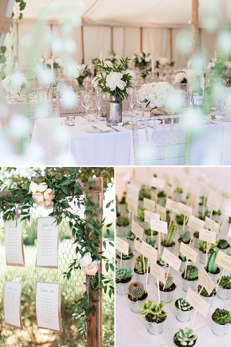 Ideas on planning your wedding seating plans