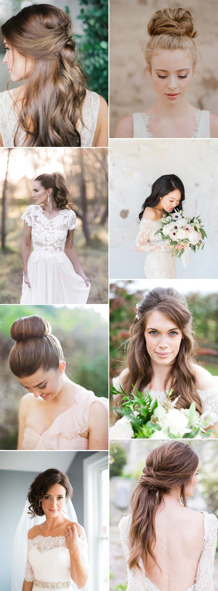 feminine bridal hairstyles for 2017