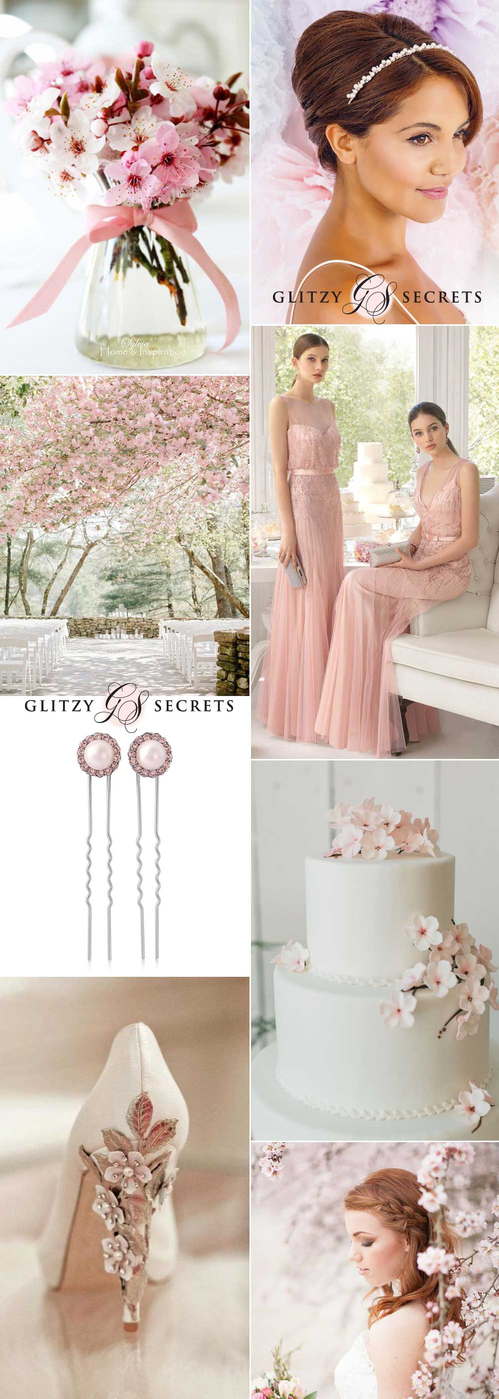 cherry blossom - a pretty spring wedding theme