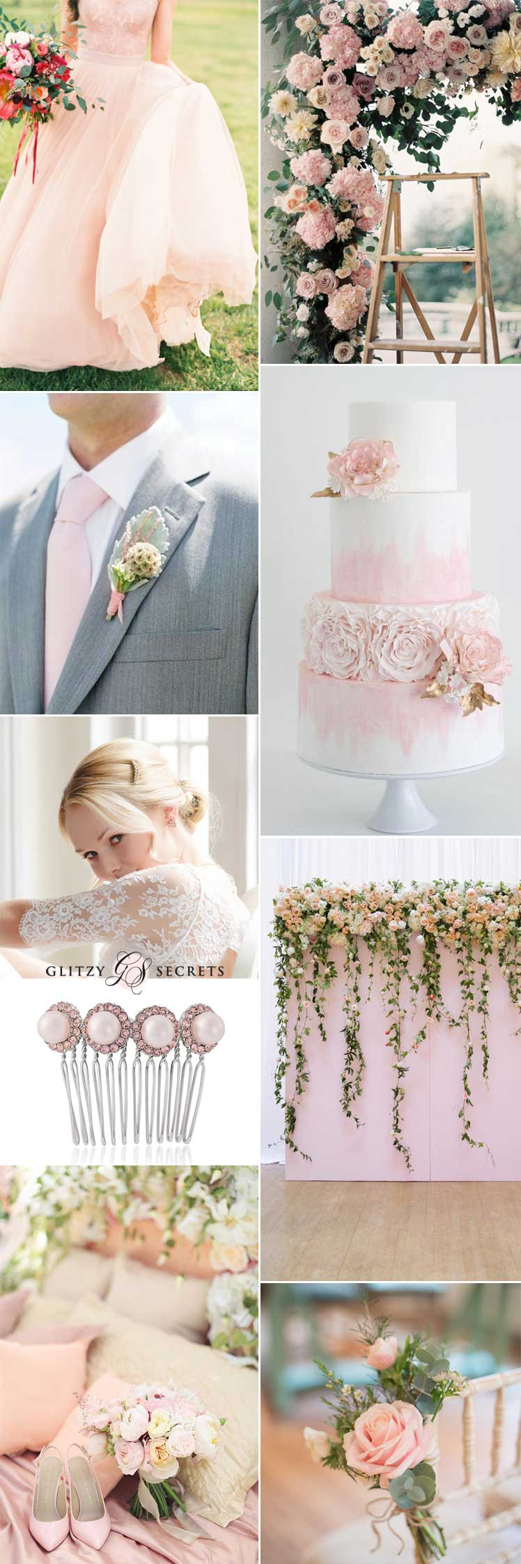 Perfect pink romantic wedding ideas