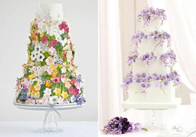 Prettiest floral cake for weddings inspo