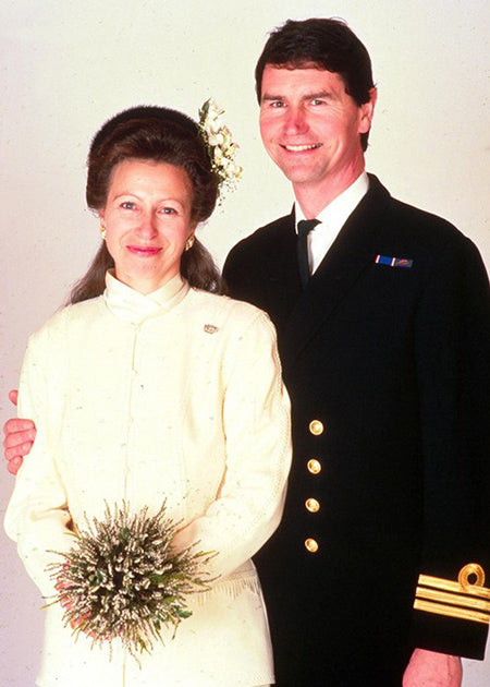 Princess Anne and Timothy Laurence