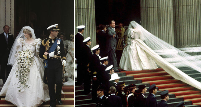 Princess Diana Wedding Day