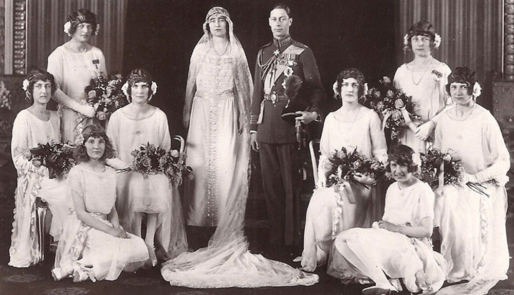 The Queen Mother's bridesmaids