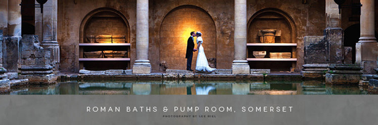 Roman Baths and Pump Room in Somerset