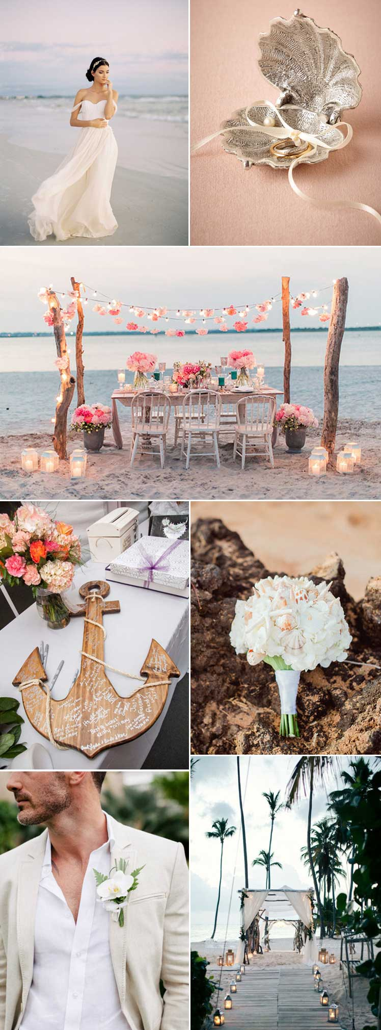 fabulous inspiration for a romantic beach wedding