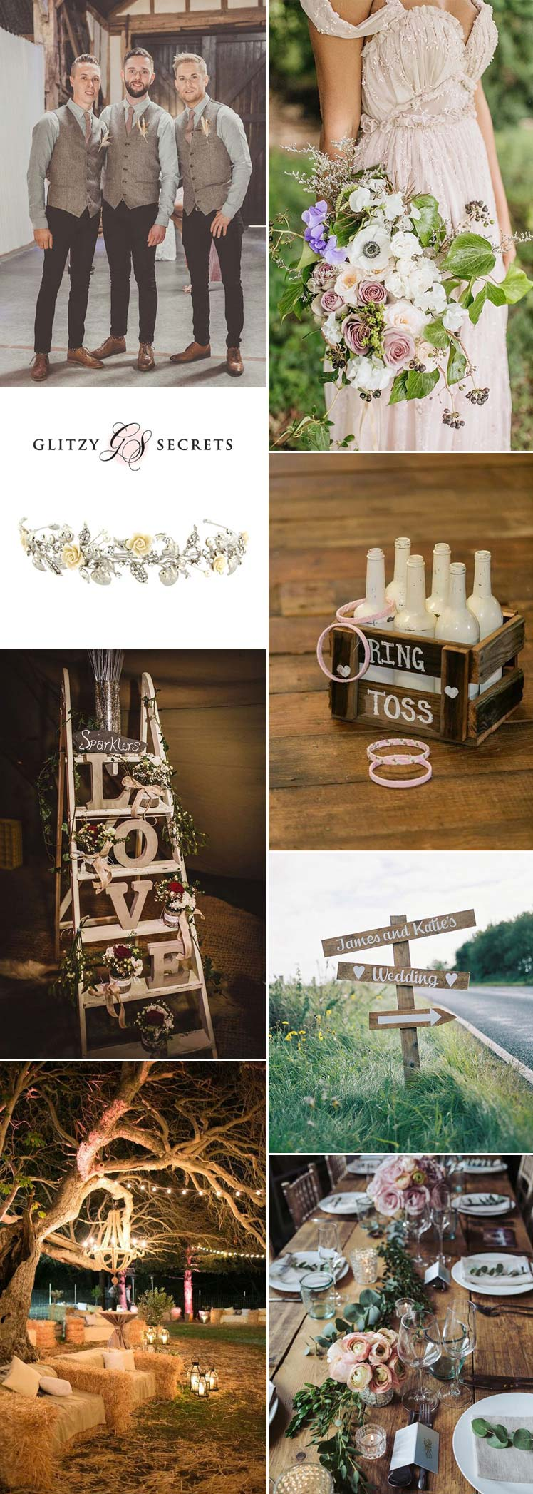 gorgeous rustic countryside wedding ideas