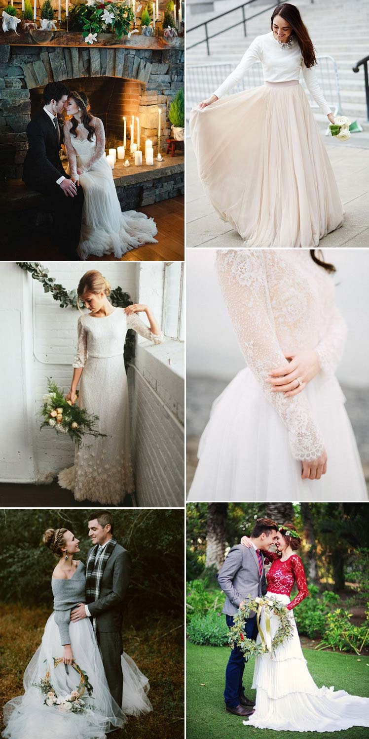 gorgeous winter wedding dresses