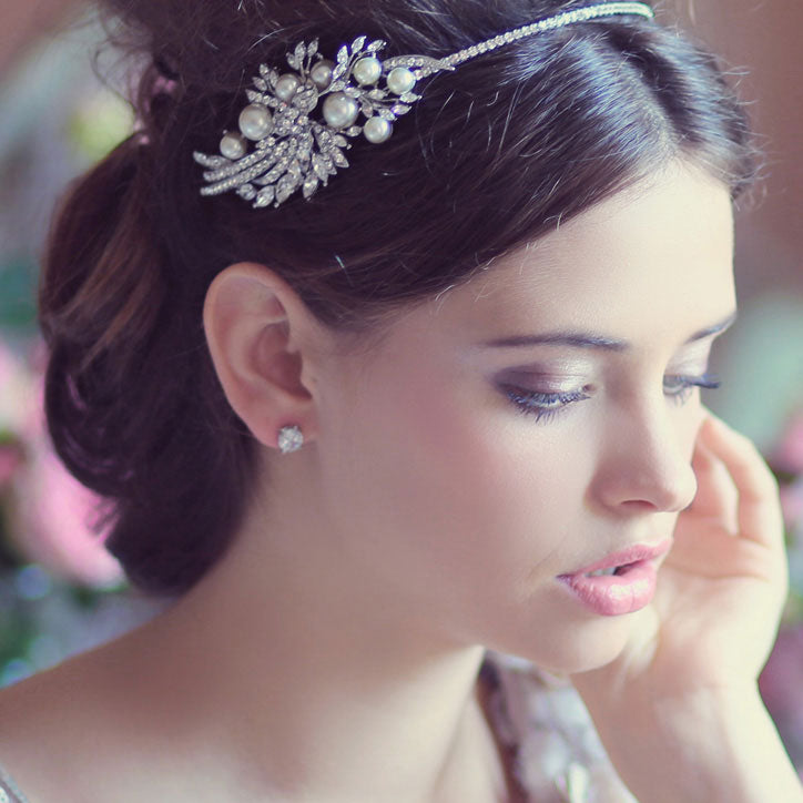 Side tiara range for proms and parties