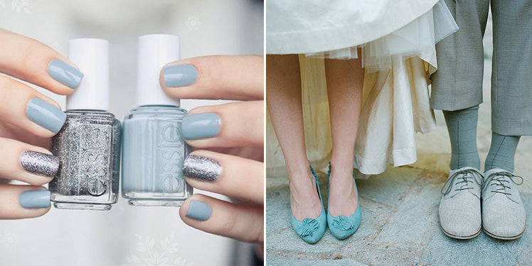 ideas for your something blue on your wedding day
