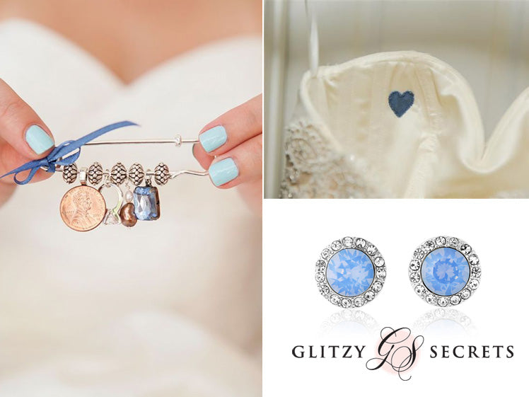 Something blue wedding ideas