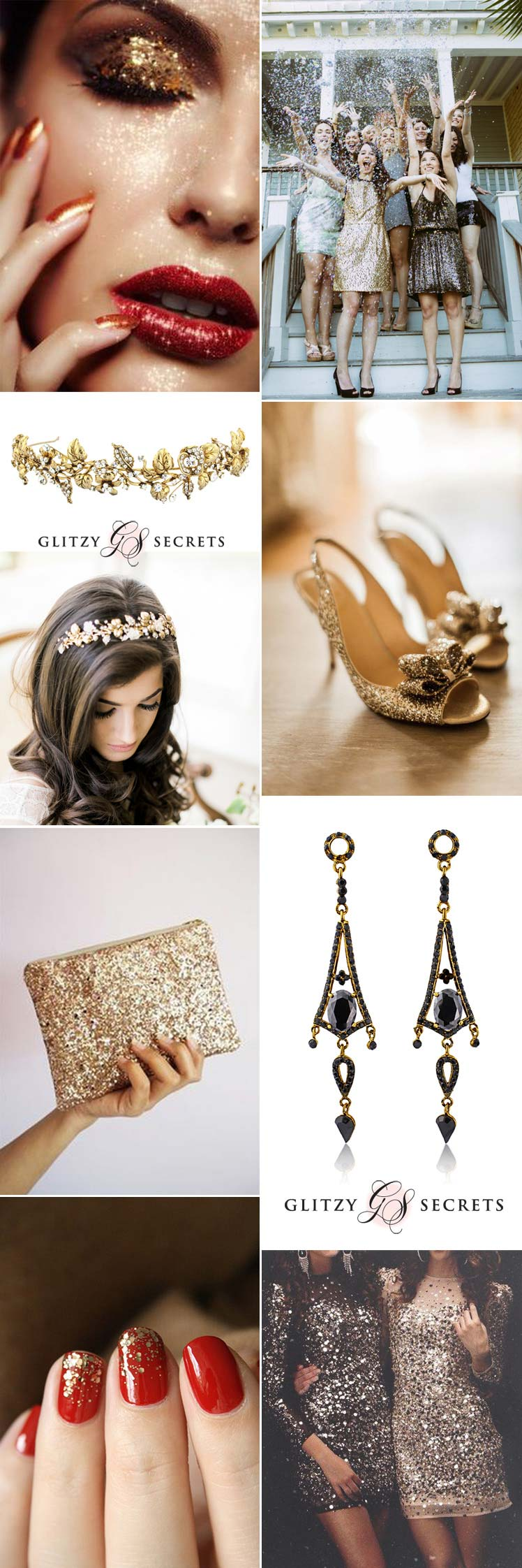 Glamourous style ideas to sparkle at your Christmas party