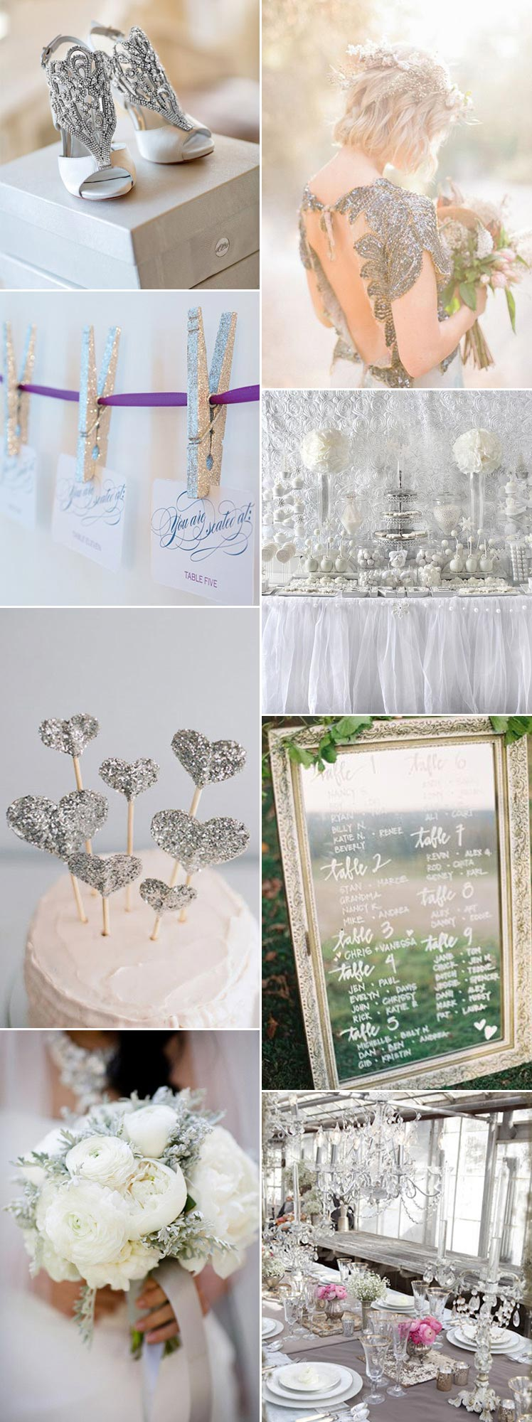 gorgeous diamond wedding inspiration