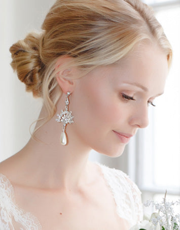 Shop our Pearl Earrings for Brides