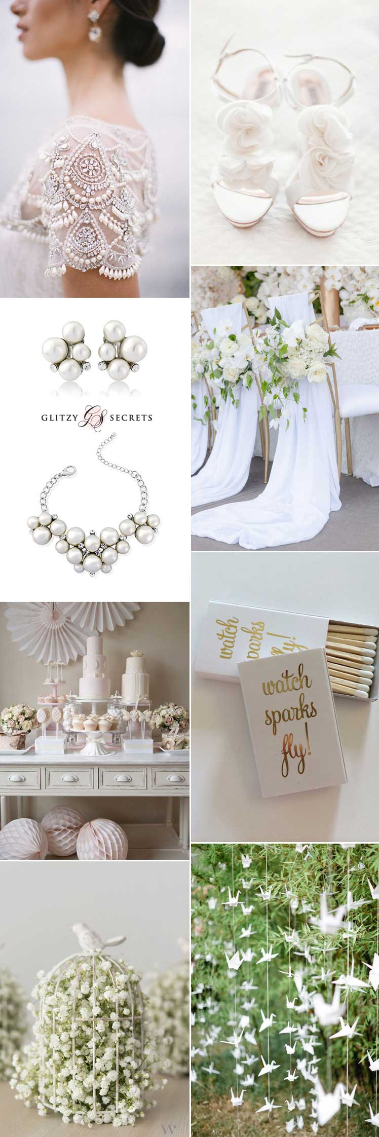 embrace the beauty of an all white wedding theme