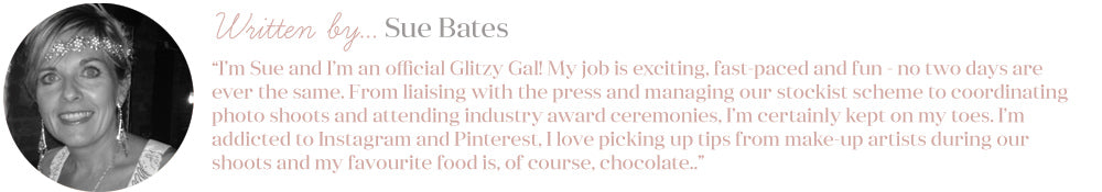 Written by Sue - Blogger at Glitzy Secrets