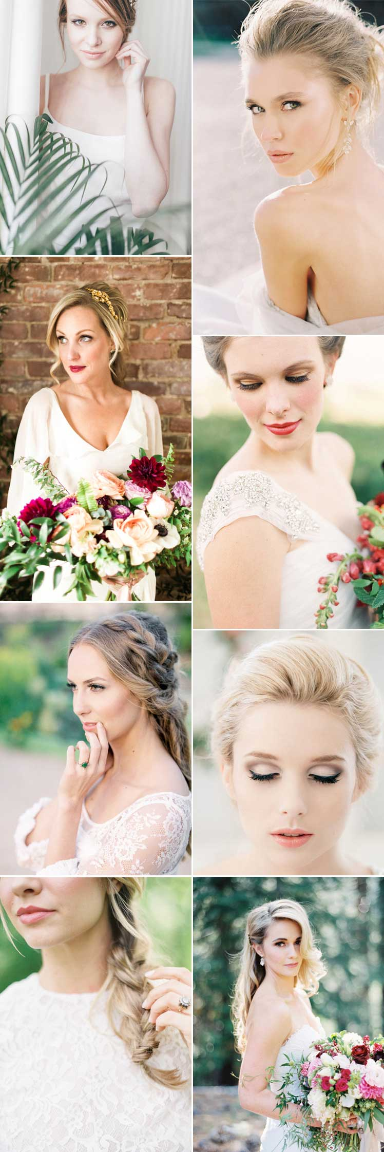 Ideas for your wedding day make-up