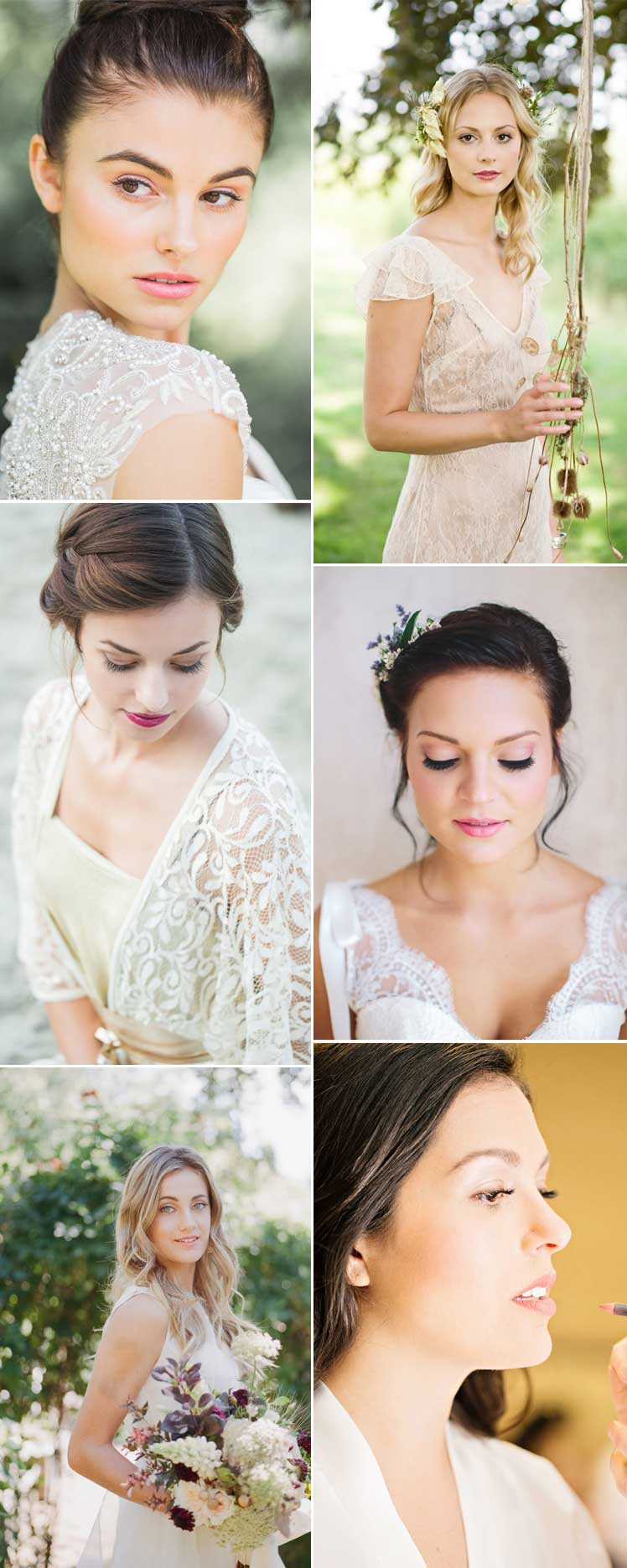 2017 summer bridal make up ideas