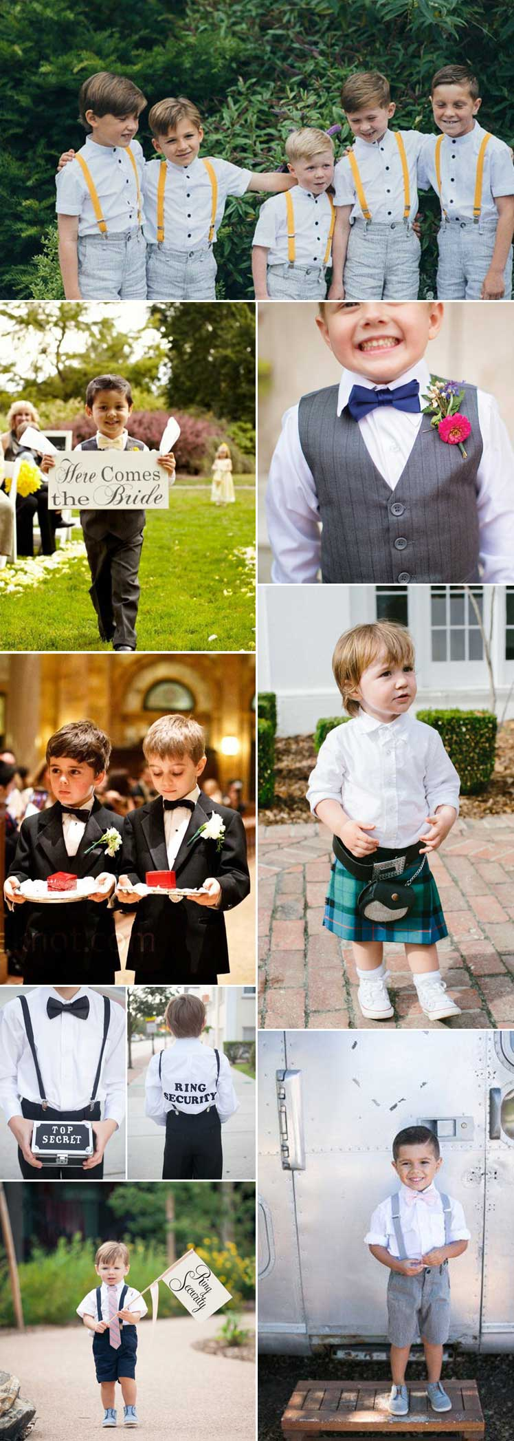 Go9rgeous cute page boy outfits