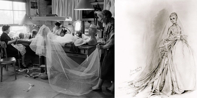 Grace Kelly wore the most amazing wedding dress