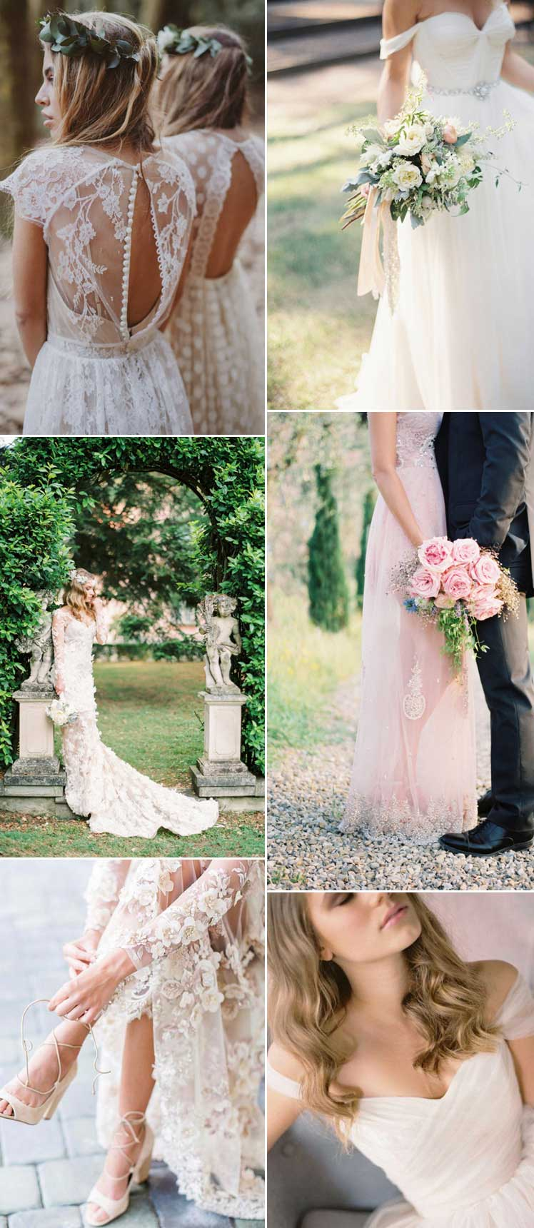 beautifully romantic wedding dresses