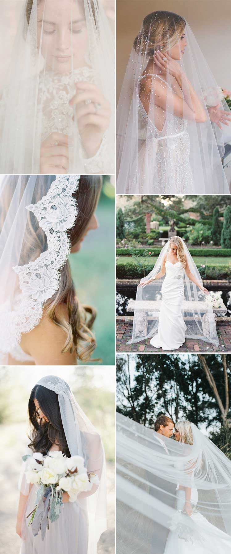 every style of wedding veil