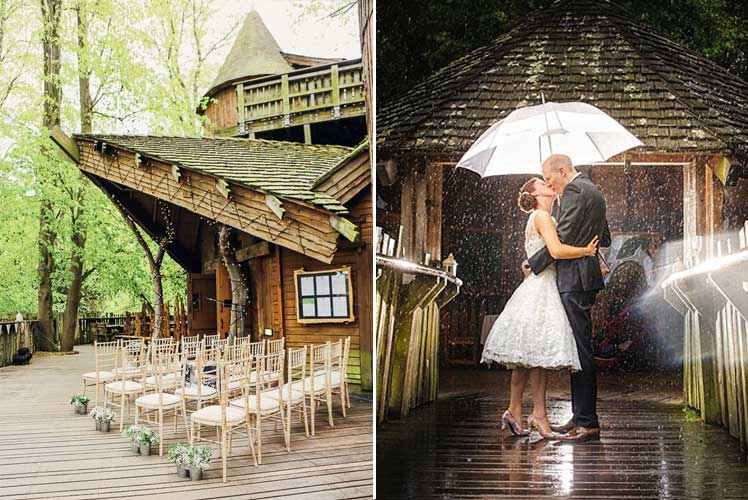 Stunning wedding venue - Treehouse at Alnwick