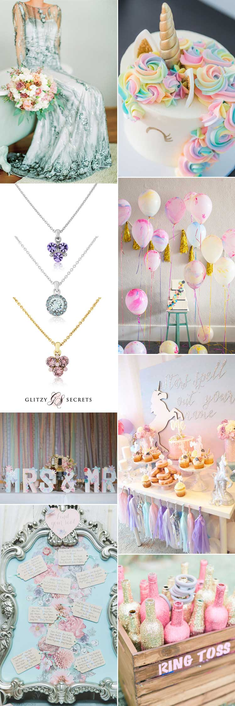 magical unicorn wedding ideas