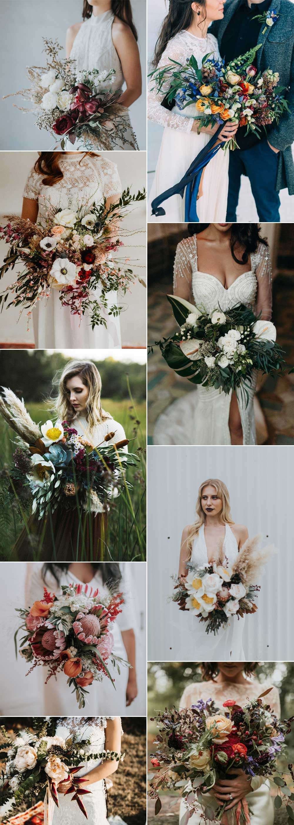Unique Wedding Bouquets for modern brides