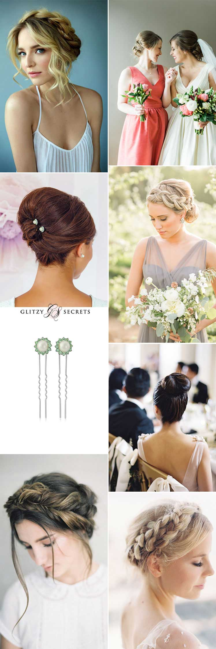 Bridesmaid up hairstyle inspiration