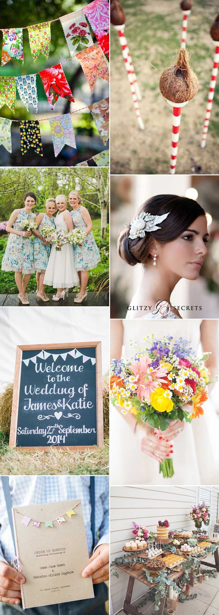 fun village fete wedding inspiration