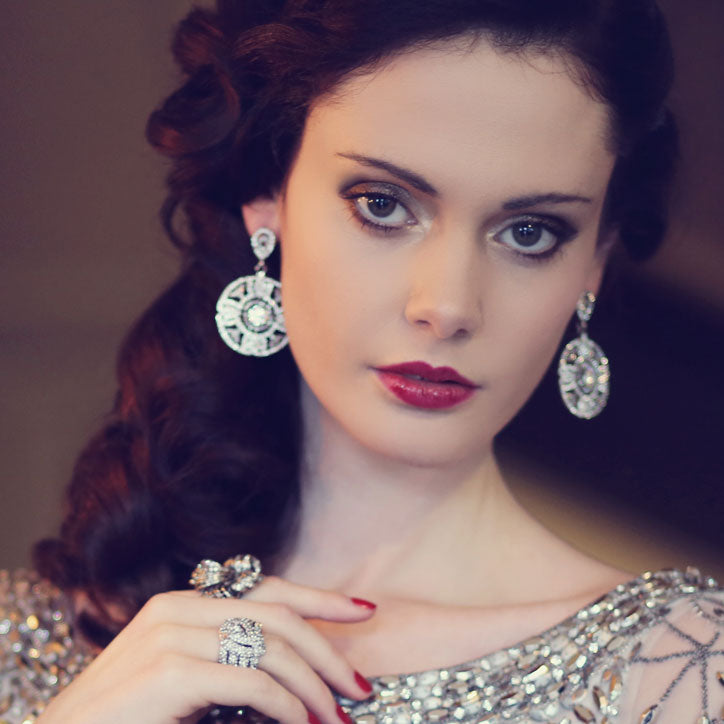 Classic collection of vintage style earrings