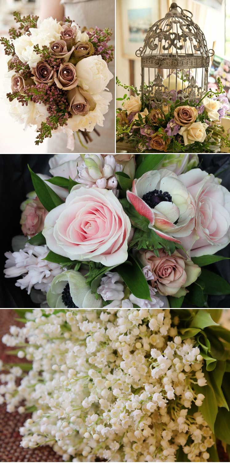 Vintage blooms for your wedding bouquets and decor