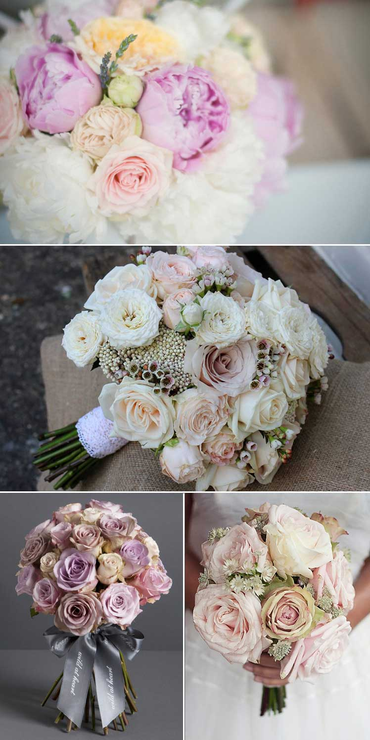 Pretty blooms for a vintage wedding theme