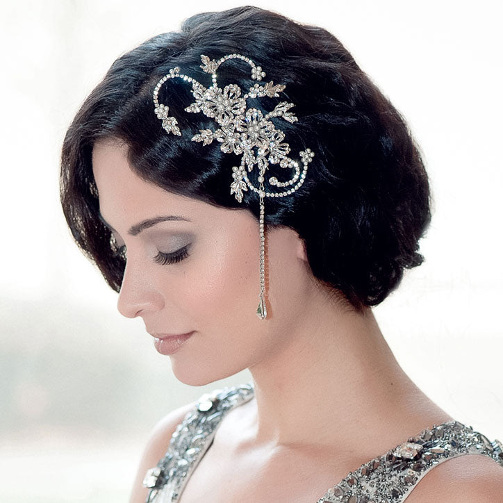Statement vintage wedding hair comb collection