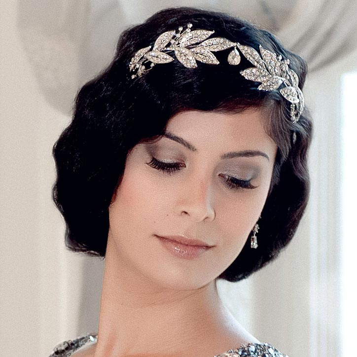 Classic vintage inspired wedding tiara collection