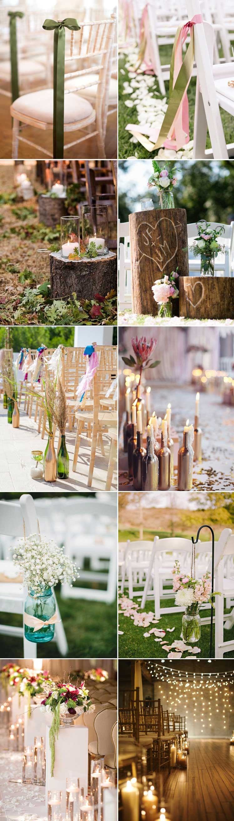 stunning wedding aisle ideas