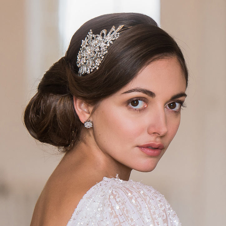 Collection of wedding hair accessories