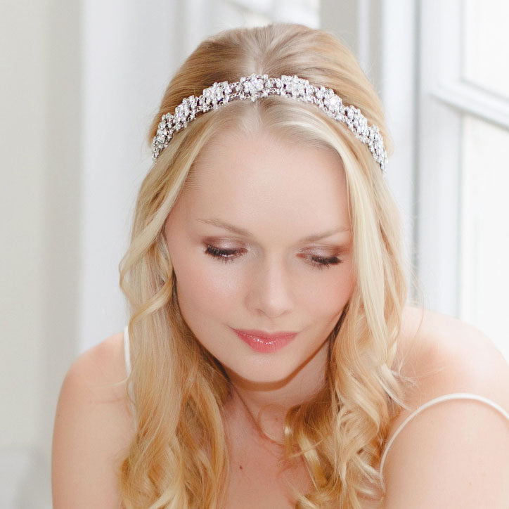 Forehead and hair bands for brides