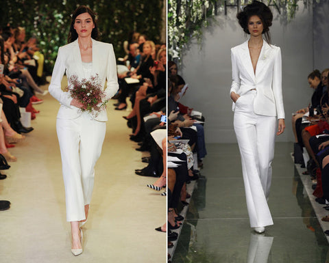 wedding trouser suits are so stylish