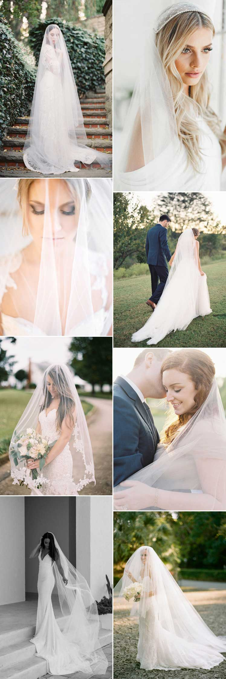 beautiful wedding veils for every bride