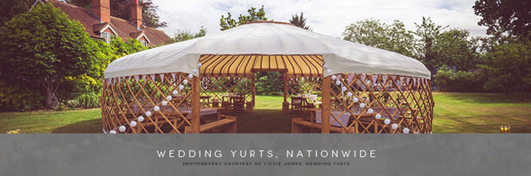 Wedding Yurts - the alternative to a traditional venue