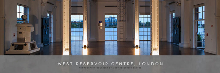 West Reservoir in London is a city chic venue