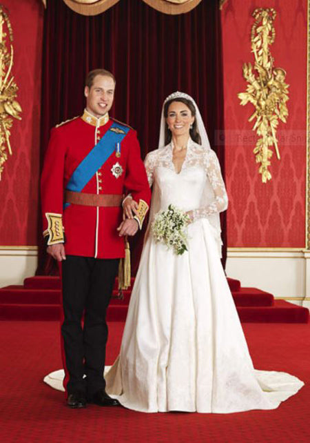 William and Kate wedding day