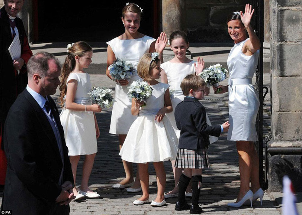 Zara Phillips' bridesmaids