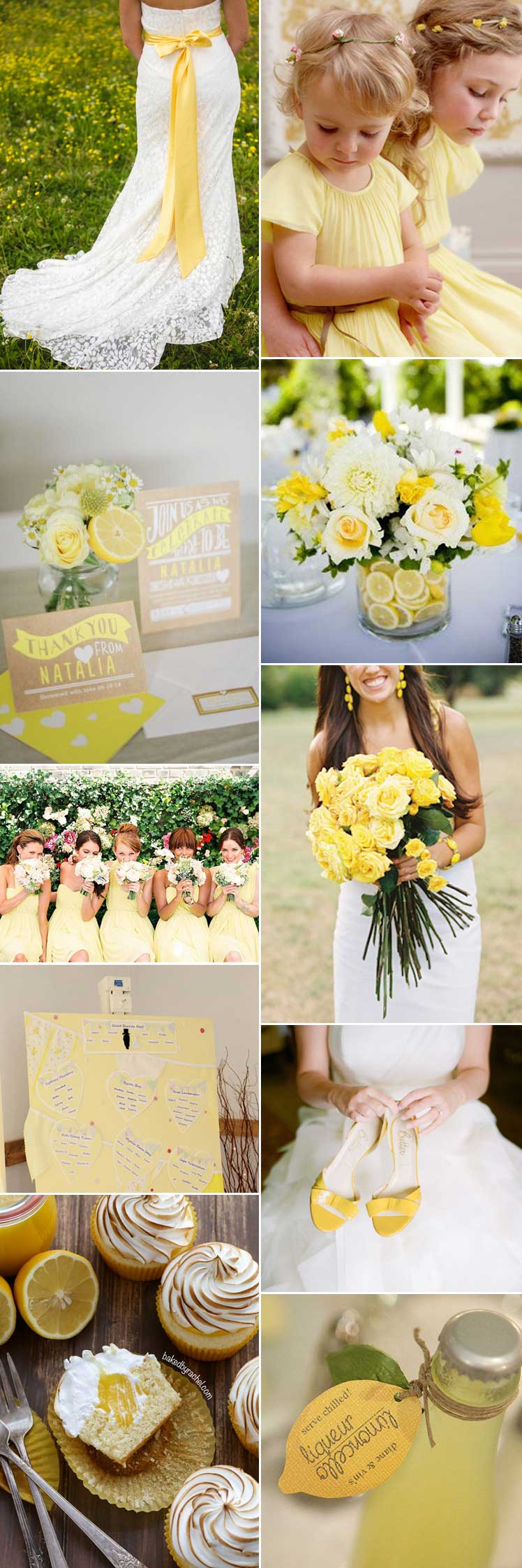 embrace a vibrant lemon sorbet wedding theme