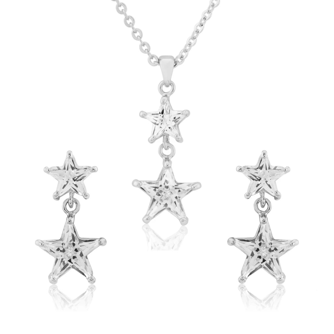Starlight Crystal Jewellery Set